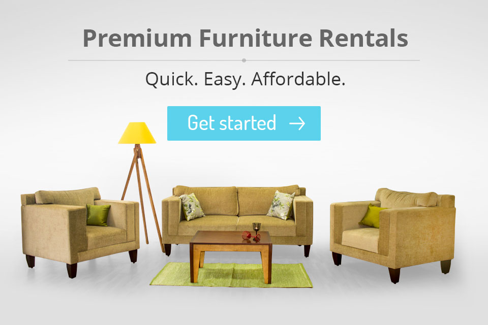 Furlenco rent furniture beds recliners sofas and more Home furniture on rent bangalore